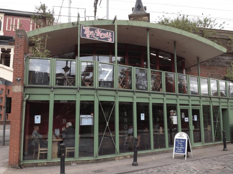 A new Italian restaurant is opening inside the former Knott Bar, The Manc