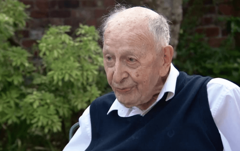UK's oldest man says key to a long life is a chippy tea every week, The Manc