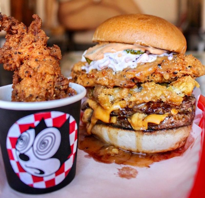 Almost Famous is giving out free burgers in Manchester this week, The Manc