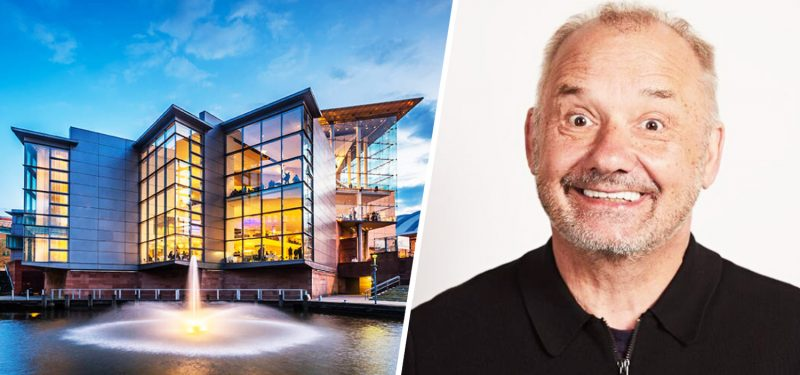 Bob Mortimer is coming to The Bridgewater Hall for a special interview and Q&A tomorrow, The Manc