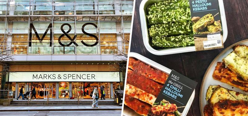 M&S are selling new pesto and chilli Halloumi Kebabs for the BBQ, The Manc