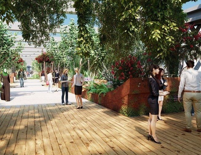 Plans officially submitted for New York-style urban park at Castlefield Viaduct, The Manc