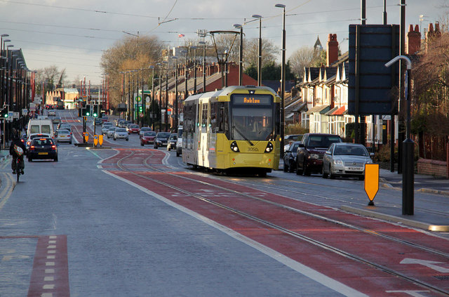 Young lad fighting for life after being hit by tram, The Manc