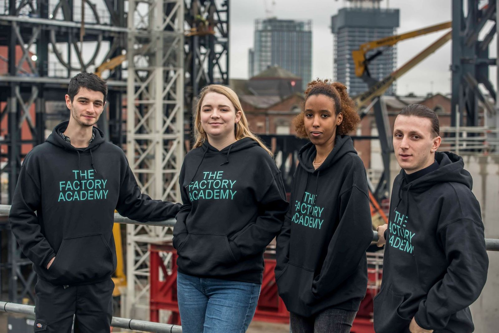 The Factory Academy provides skills and training programmes in creative industries forpeople across the region.