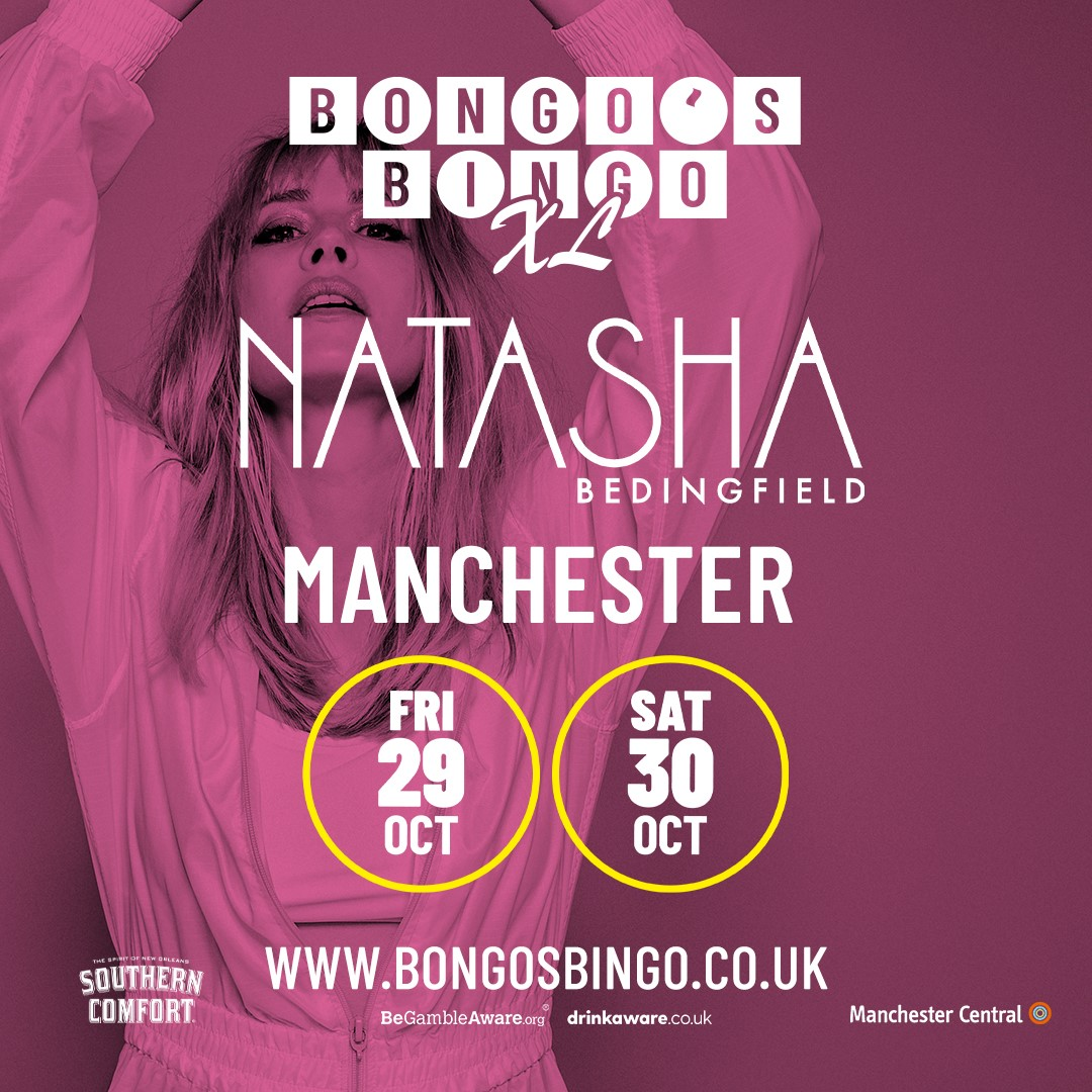 Natasha Bedingfield to headline huge Bongo's Bingo Halloween weekend, The Manc