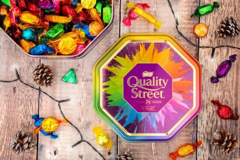 Quality Street adds its first ever white chocolate treat to tins ready for Christmas, The Manc