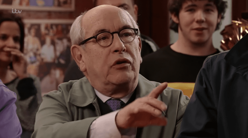 Coronation Street reveals that long-standing character Norris Cole will die next week, The Manc