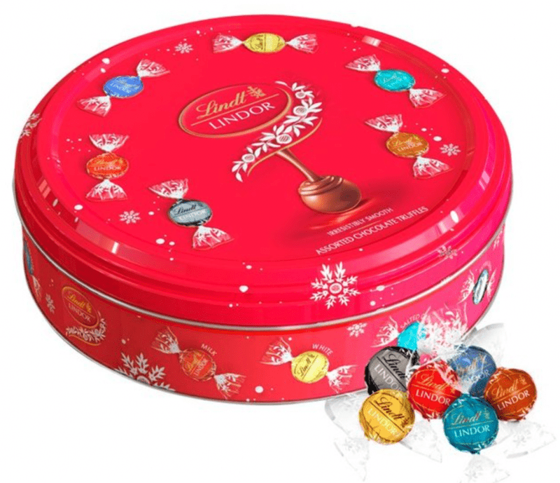 You can now buy a Lindor selection tin for just £15 at Sainsbury's, The Manc