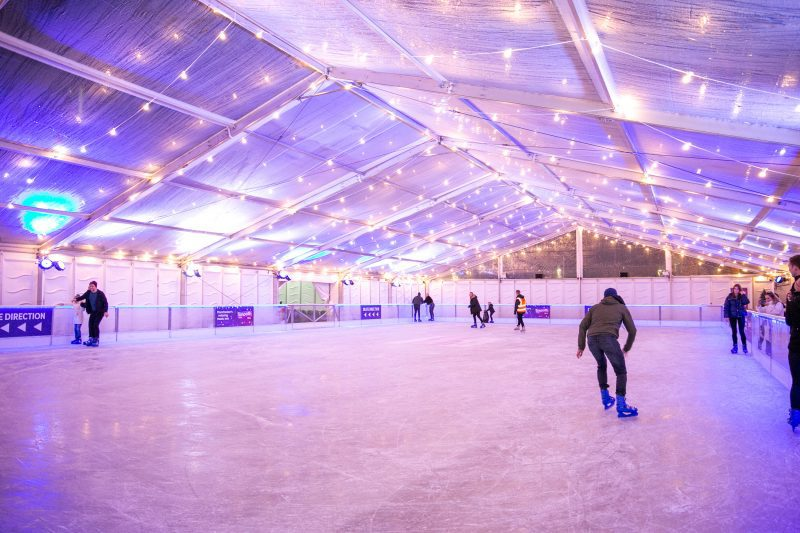 There's a massive spooky ice rink coming to Manchester city centre, The Manc