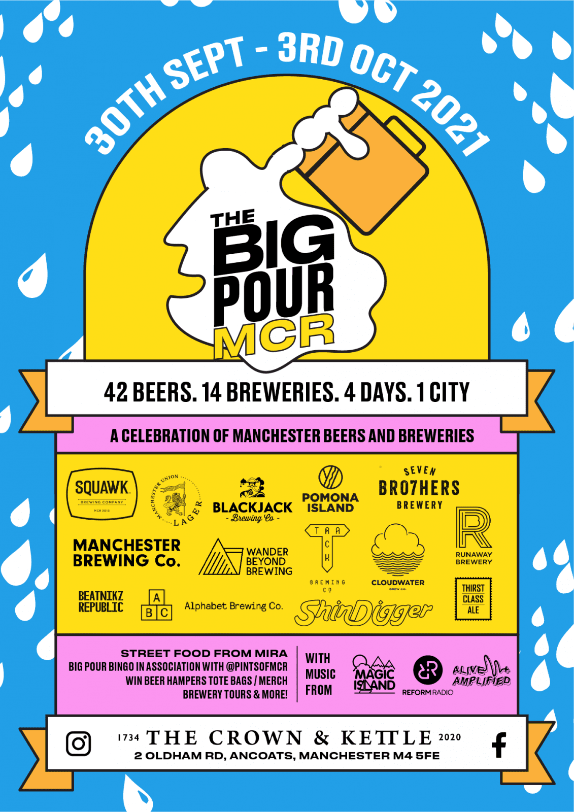 There's a four-day celebration of Manchester's best beers and breweries at The Crown & Kettle next month, The Manc