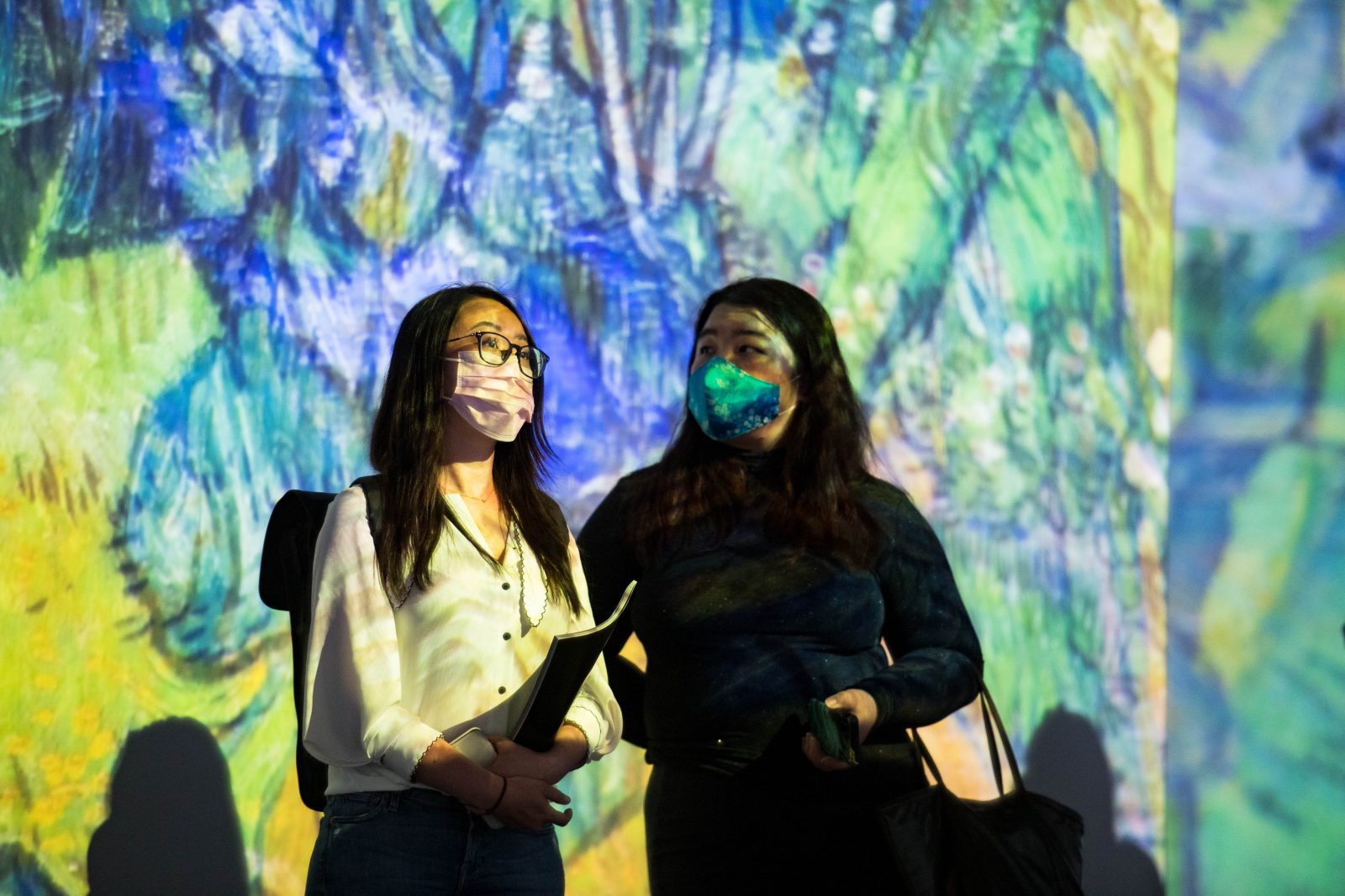 There's loads for kids to do when Van Gogh Alive arrives at MediaCityUK this month, The Manc