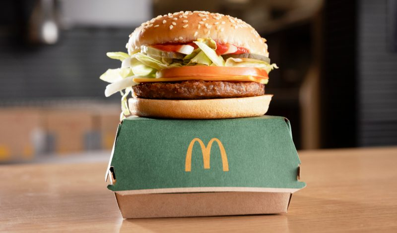 McDonald's launches its first ever vegan 'McPlant' burger in the UK, The Manc