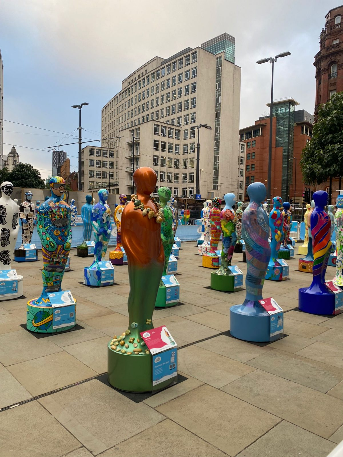 Why there are dozens of colourful statues in Manchester this morning, The Manc