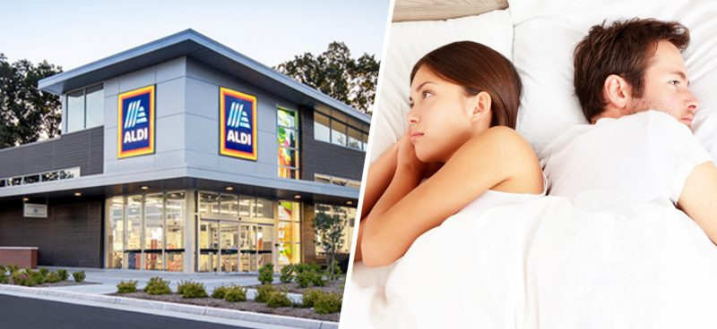 You can now buy a half-warm half-cool double duvet from Aldi, The Manc