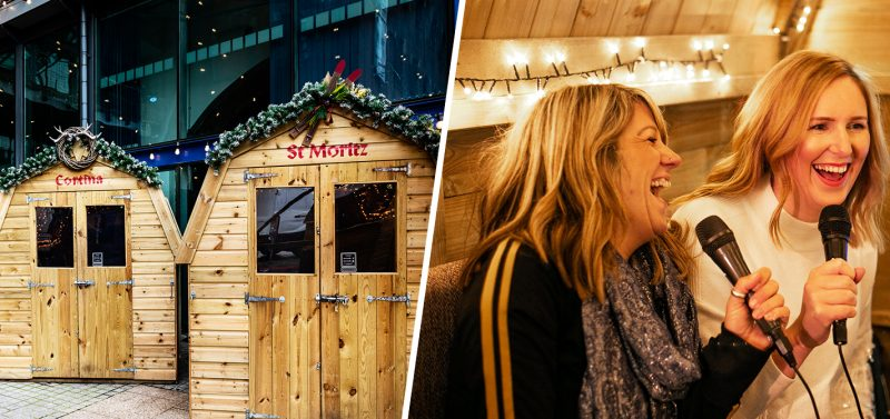 Bar Hütte is bringing 'Christmas karaoke' back to Great Northern this year, The Manc