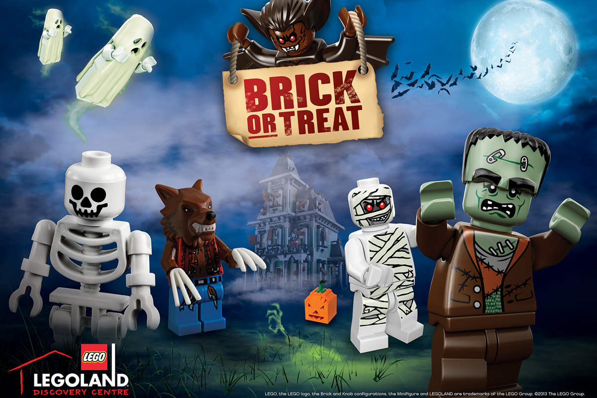 A 'brick or treat' event is happening at LEGOLAND Discovery Centre Manchester this Halloween, The Manc
