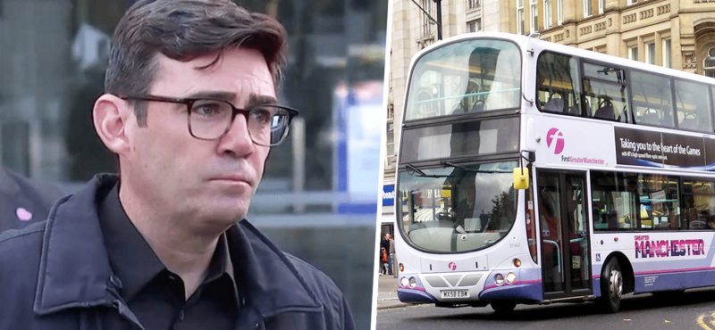Andy Burnham calls for 'London-style' £1.55 bus fares across the North of England, The Manc