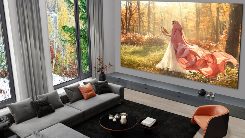 LG has just unveiled a HUGE 325-inch television, The Manc