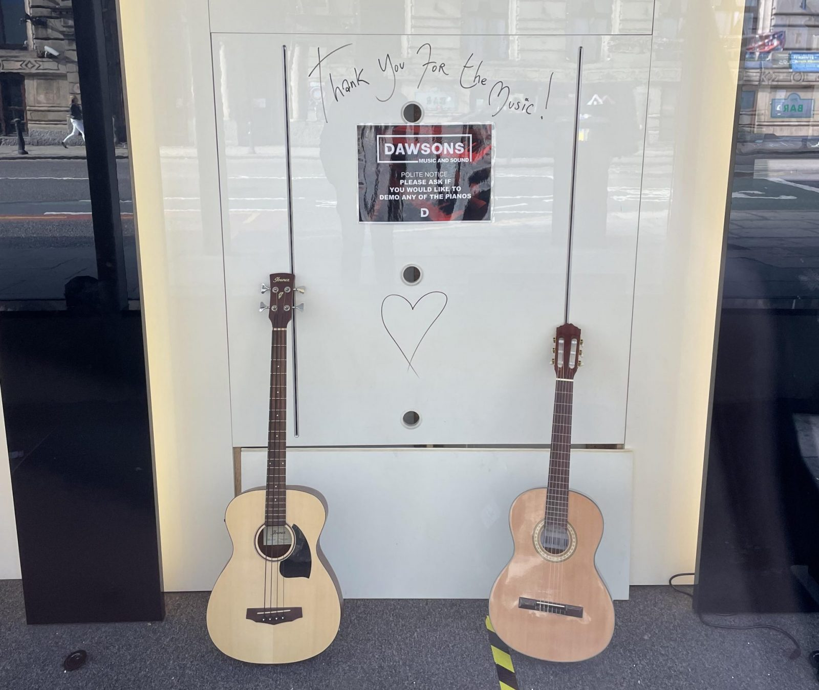 Dawsons Music on Portland Street has permanently closed, The Manc