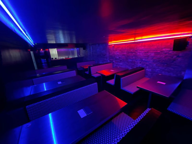 A futuristic new Blade Runner-style bar has opened beneath NQ restaurant District, The Manc