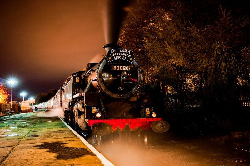 You can ride a spooky steam train through Greater Manchester this Halloween, The Manc