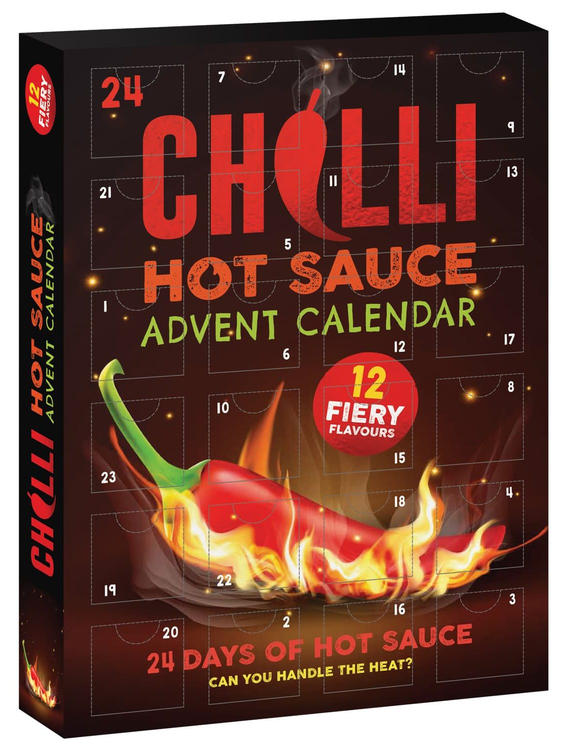 You can get a hot sauce advent calendar with 12 'fiery flavours' at B&M, The Manc