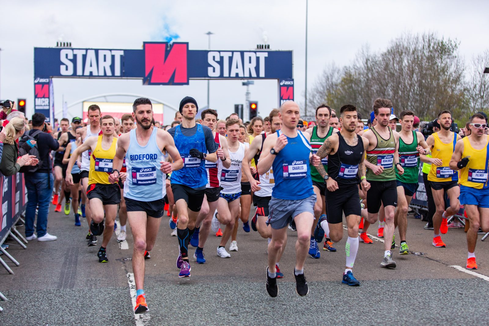 This man accidentally ran the full Manchester Marathon after making a 'stupid mistake', The Manc