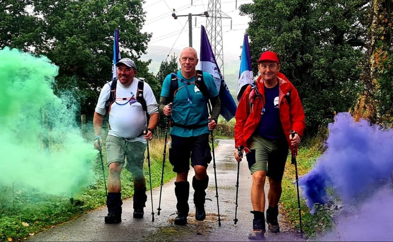 Three northern dads raise over £700,000 for suicide prevention charity after completing 300-mile walk, The Manc
