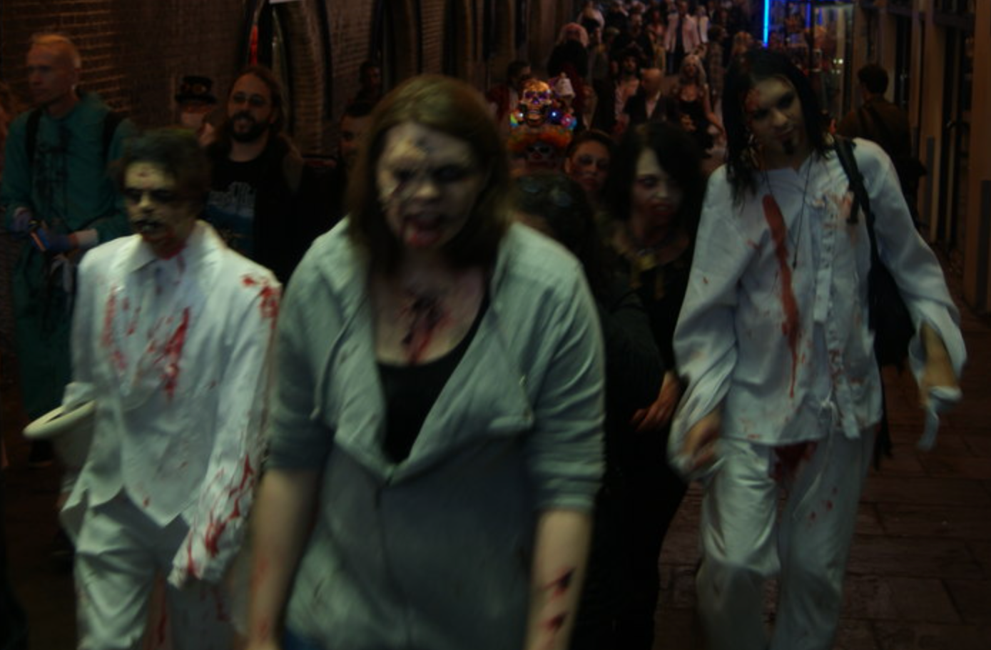 There's a zombie apocalypse experience coming to an abandoned Wigan shopping centre, The Manc