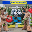 A pop-up 'immersive nature experience' has taken over one of Manchester's busiest streets, The Manc