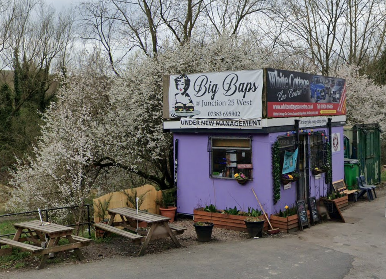 Men 'from Manchester' are having dogging parties in the bushes behind Big Baps roadside cafe, The Manc