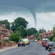 Widnes begins clean-up after 'mini tornado' leaves trail of destruction, The Manc