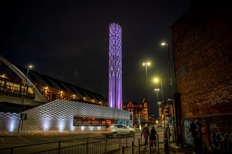 Manchester's new Tower of Light has officially been lit up – and this is why, The Manc