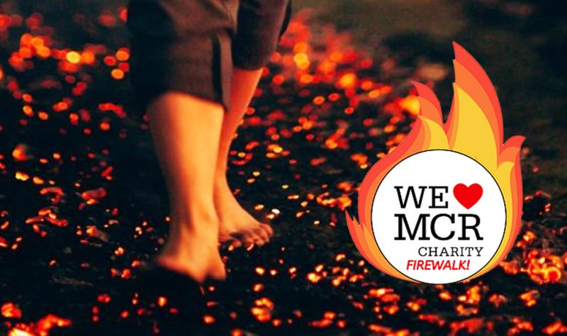 There's still time for 'brave souls' to sign up for We Love MCR Charity's firewalk next week, The Manc