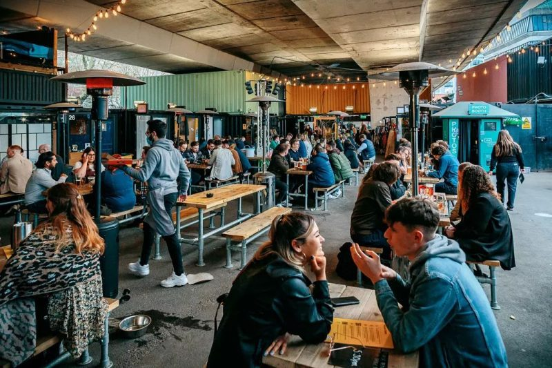 A huge German beer festival is taking over Hatch this weekend, The Manc