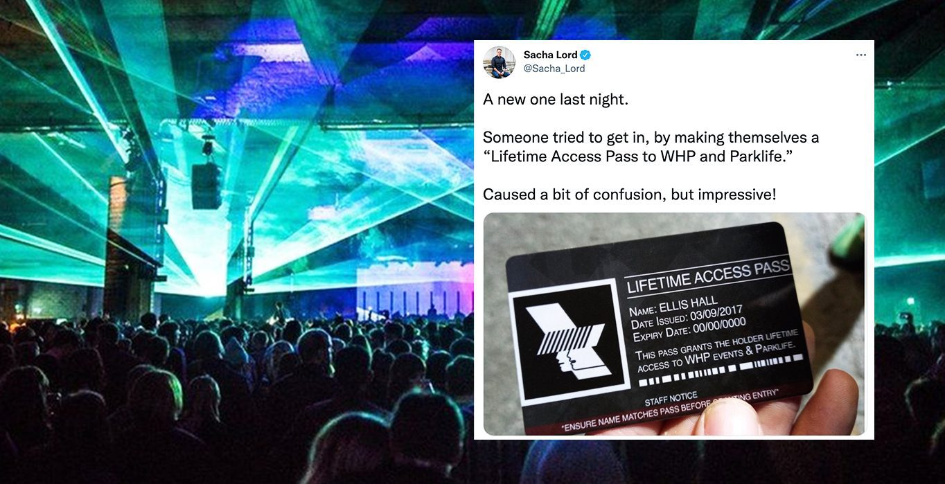 'Little scoundrel' granted lifetime access to Warehouse Project after making a fake pass to get in for free, The Manc
